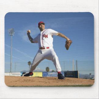 USA, California, San Bernardino, baseball 4 Mouse Pad