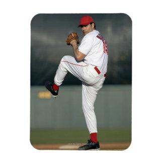 USA, California, San Bernardino, baseball 5 Rectangular Photo Magnet