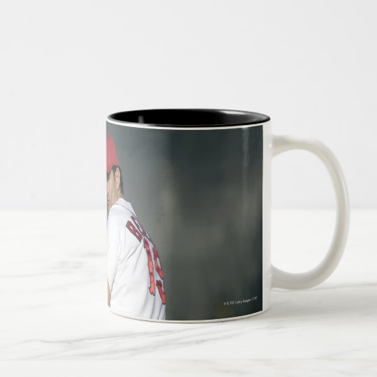 USA, California, San Bernardino, baseball 5 Two-Tone Coffee Mug