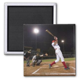 USA, California, San Bernardino, baseball 6 2 Inch Square Magnet