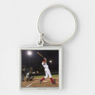 USA, California, San Bernardino, baseball 6 Keychain
