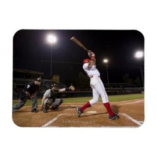 USA, California, San Bernardino, baseball 6 Rectangular Photo Magnet