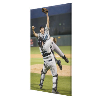 USA, California, San Bernardino, baseball 7 Canvas Print