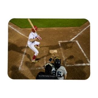 USA, California, San Bernardino, baseball 7 Rectangular Photo Magnet