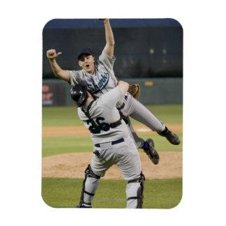 USA, California, San Bernardino, baseball 8 Rectangular Photo Magnet