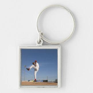 USA, California, San Bernardino, baseball 9 Keychain
