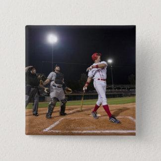 USA, California, San Bernardino, baseball Pinback Button