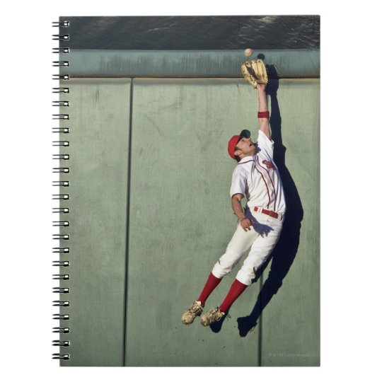 USA, California, San Bernardino, baseball player 2 Notebook