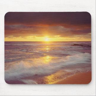 USA, California, San Diego. Sunset Cliffs beach Mouse Pad