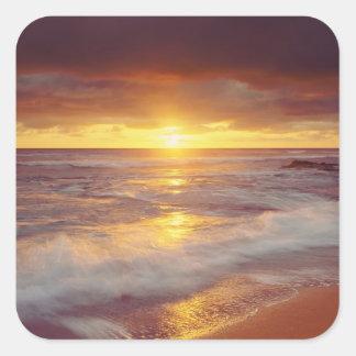 USA California San Diego Sunset Cliffs beach Stickers