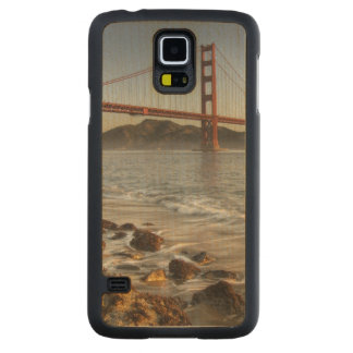 USA, California, San Francisco.  A scenic view Carved Maple Galaxy S5 Case