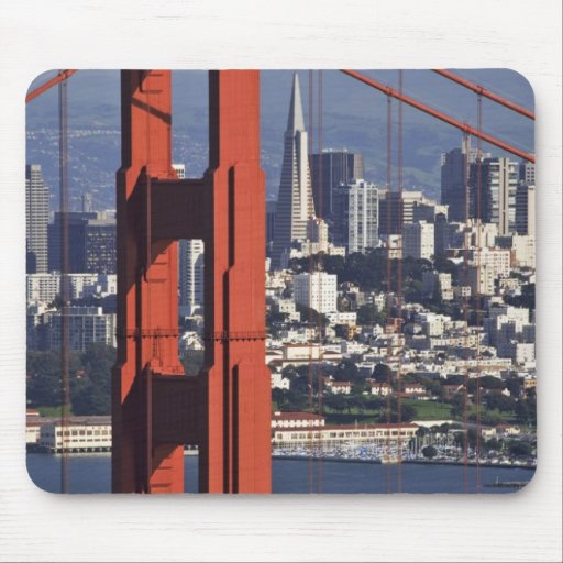 USA, California, San Francisco. Aerial view of Mouse Pads