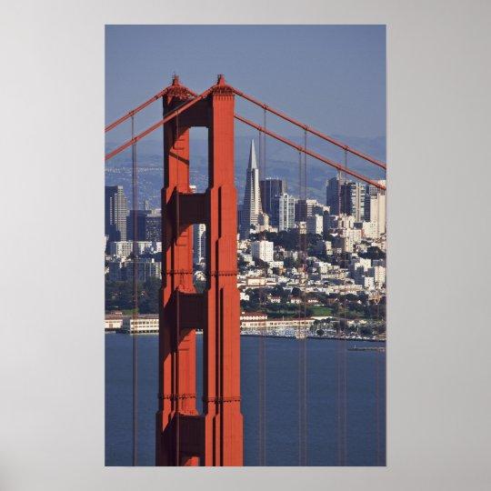 USA, California, San Francisco. Aerial view of Poster