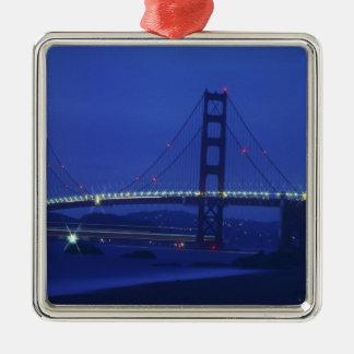 USA, California, San Francisco. Golden Gate 2 Metal Ornament