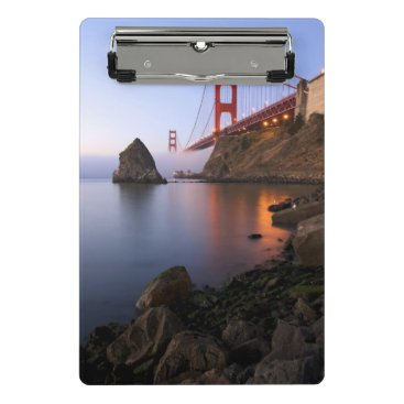 USA Themed USA, California, San Francisco. Golden Gate 2 Mini Clipboard