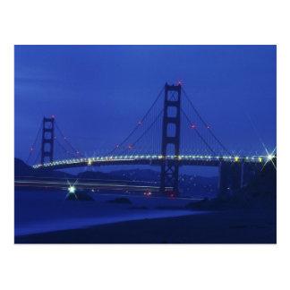 USA California San Francisco Golden Gate 2 Post Card