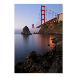 USA, California, San Francisco. Golden Gate 2 Poster