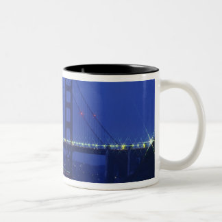 USA, California, San Francisco. Golden Gate 2 Two-Tone Coffee Mug
