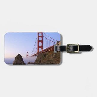 USA, California, San Francisco. Golden Gate 3 Bag Tag