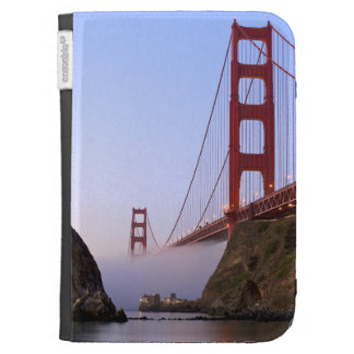 USA, California, San Francisco. Golden Gate 3 Kindle Folio Cases