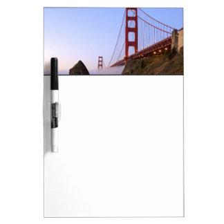 USA, California, San Francisco. Golden Gate 3 Dry Erase Board