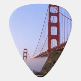 USA, California, San Francisco. Golden Gate 3 Guitar Pick