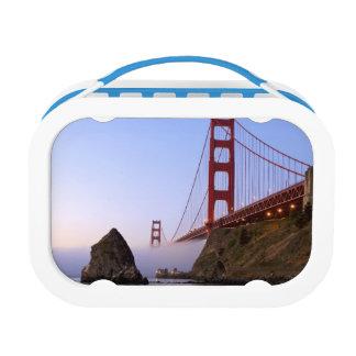 USA, California, San Francisco. Golden Gate 3 Lunch Box