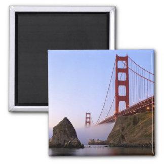 USA, California, San Francisco. Golden Gate 3 Magnet