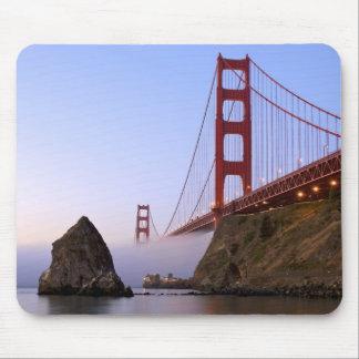 USA, California, San Francisco. Golden Gate 3 Mouse Pad