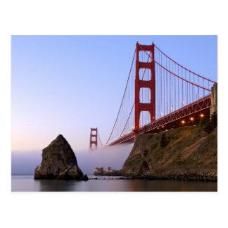 USA, California, San Francisco. Golden Gate 3 Postcard