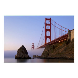 USA, California, San Francisco. Golden Gate 3 Poster