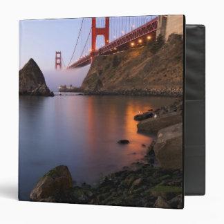 USA, California, San Francisco. Golden Gate 3 Ring Binder