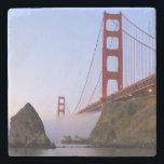 "USA, California, San Francisco. Golden Gate 3 Stone Coaster<br><div class=""desc"">USA,  California,  San Francisco Golden Gate Bridge | COPYRIGHT Rebecca R. Jackrel / DanitaDelimont.com</div>"