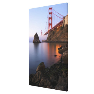 USA, California, San Francisco. Golden Gate Canvas Print