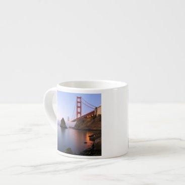 USA Themed USA, California, San Francisco. Golden Gate Espresso Cup