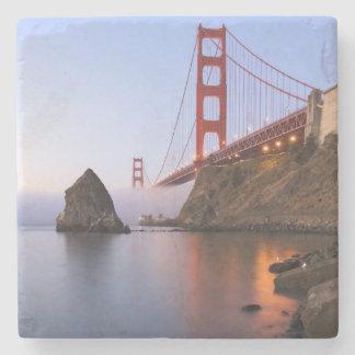 USA, California, San Francisco. Golden Gate Stone Coaster
