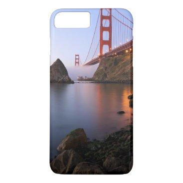 USA Themed USA, California, San Francisco. Golden Gate iPhone 8 Plus/7 Plus Case