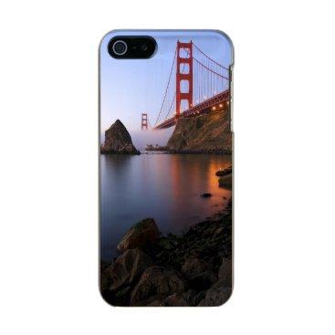 USA Themed USA, California, San Francisco. Golden Gate Metallic iPhone SE/5/5s Case