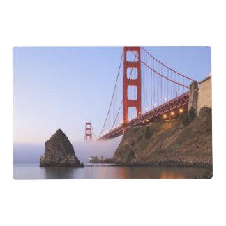 USA, California, San Francisco. Golden Gate Laminated Place Mat