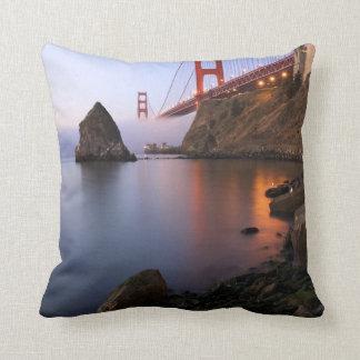 USA, California, San Francisco. Golden Gate Pillow