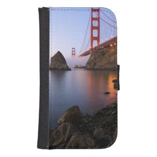 USA, California, San Francisco. Golden Gate Galaxy S4 Wallet Cases