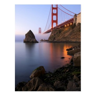 USA Themed USA, California, San Francisco. Golden Gate Postcard