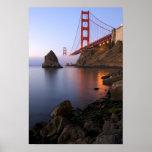 USA, California, San Francisco. Golden Gate Poster