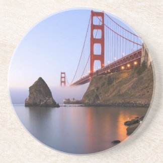 USA, California, San Francisco. Golden Gate Sandstone Coaster
