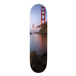 USA, California, San Francisco. Golden Gate Skateboard Deck