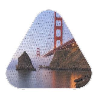 USA, California, San Francisco. Golden Gate Speaker