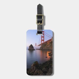 USA, California, San Francisco. Golden Gate Tag For Luggage