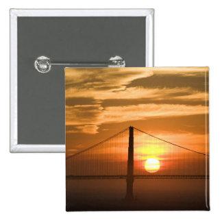 USA. California. San Francisco. Sun setting Pin
