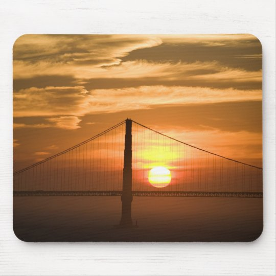 USA. California. San Francisco. Sun setting Mouse Pad