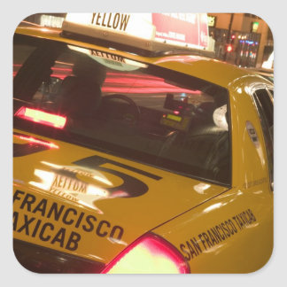 USA, California, San Francisco Union Square Square Sticker